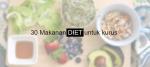 makanan diet untuk kurus
