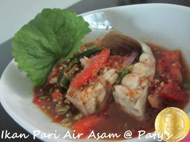 Ikan Pari Air Asam