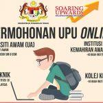 Panduan Mengisi Borang UPU Online