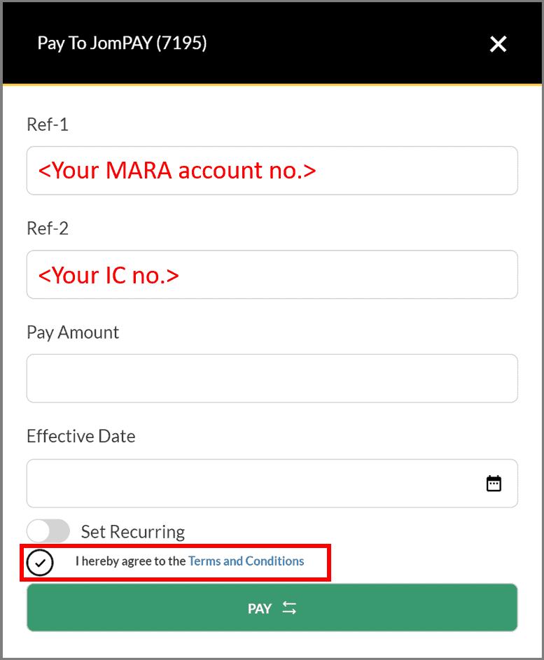 Cara Bayar Balik Pinjaman Mara Online Listikel Com