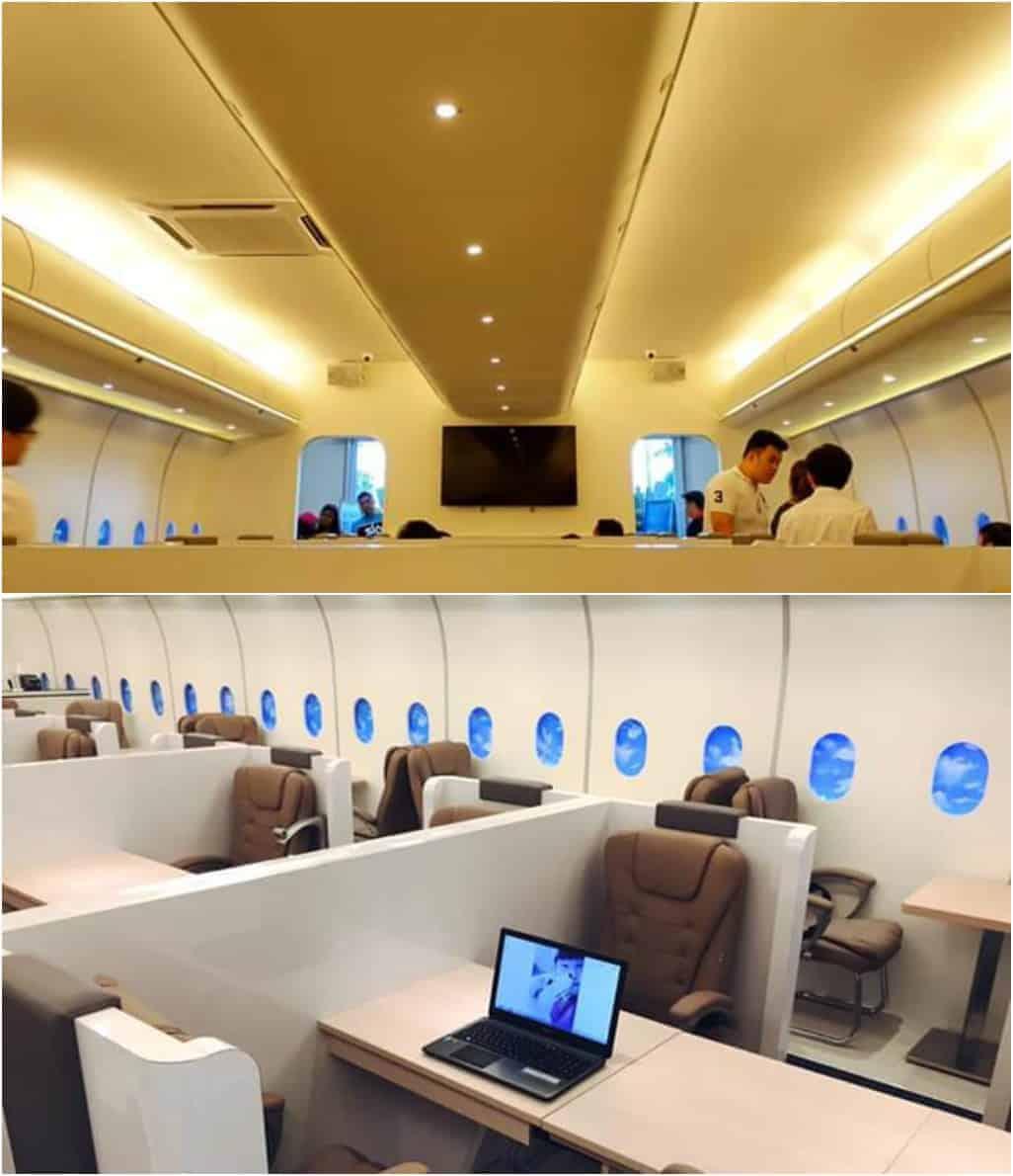 The Dreamliner Airways Café