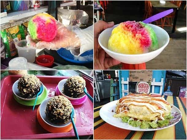 Muar Mango Corner Ice Ball