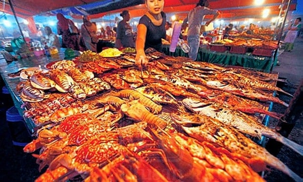 Todak Waterfront Seafood Market