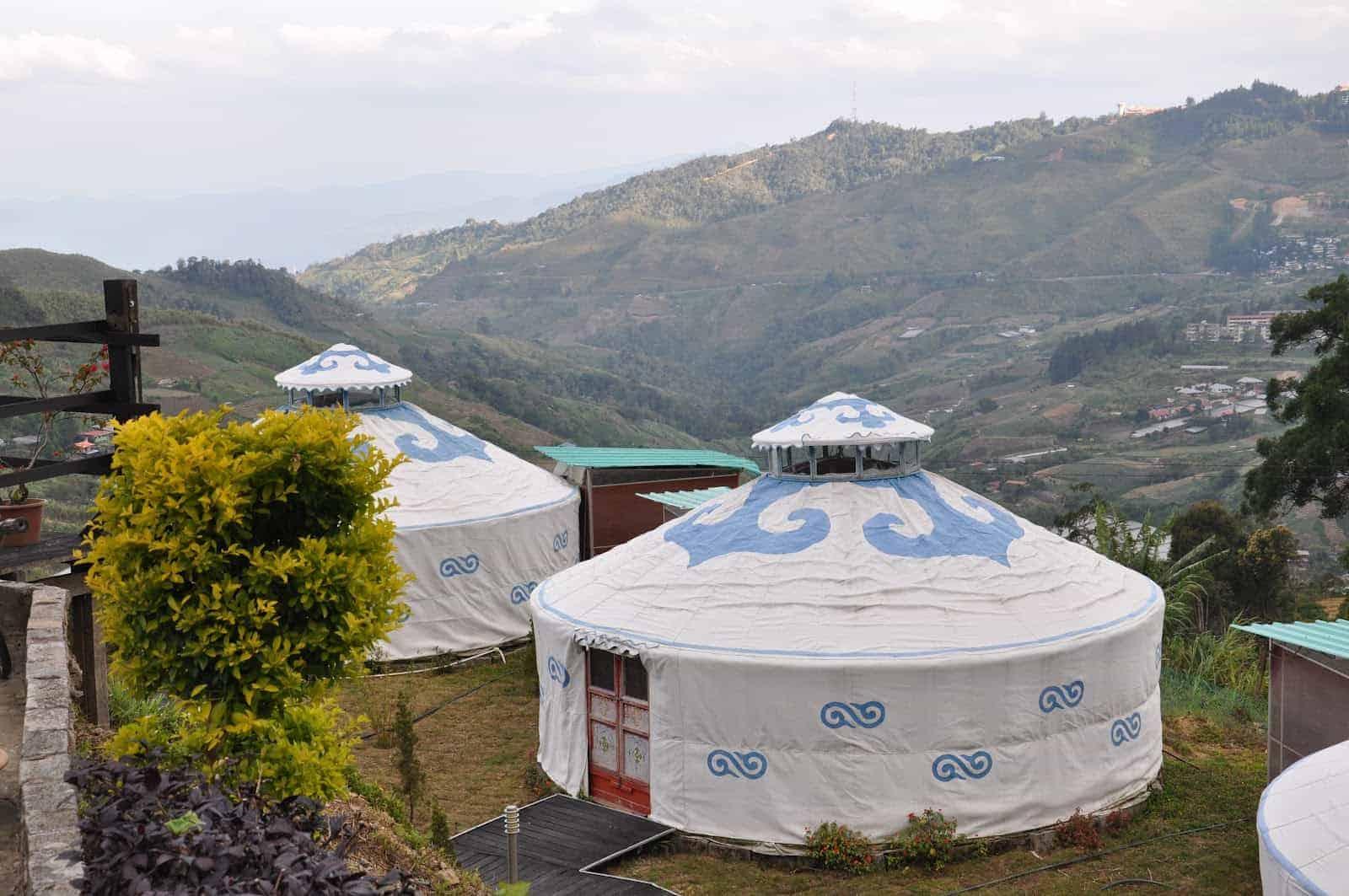 Mongolian Yurt Wind Paradise Lodge