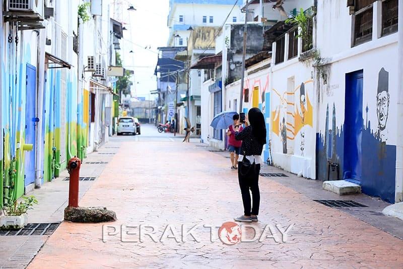 Seni Jalanan Tanjung Malim