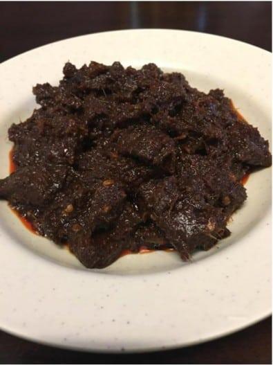 dendeng daging sedap dan mudah