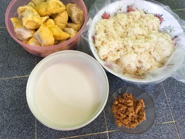 Resepi Pulut Durian Istimewa
