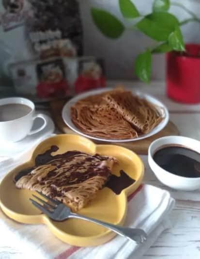 roti jala white coffee