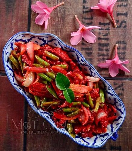 Daging Merah Ala Thai Mat Gebu