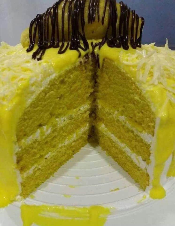 Kek Cheese Leleh Durian