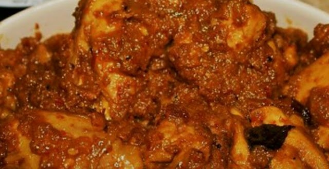 Resepi Rendang Ayam Johor