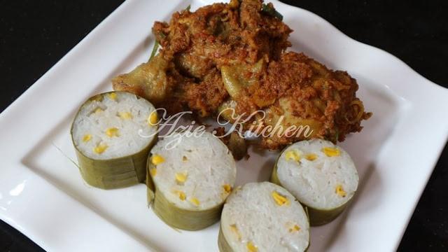 Resepi Rendang Ayam Pedas versi Perak Azie Kitchen