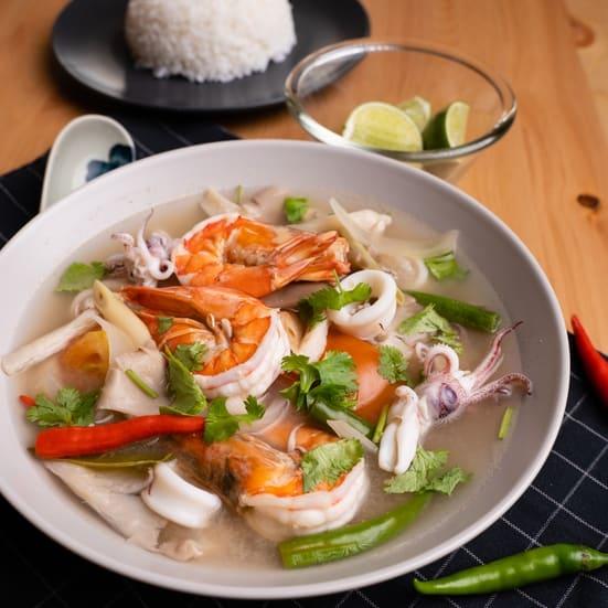 Tomyam Putih ala Restoran Thai che nom