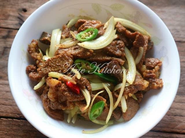 daging goreng azie kitchen