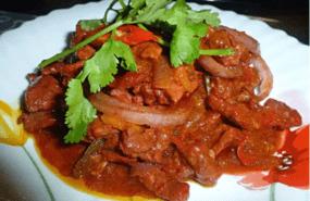 Resepi Daging Masak Merah Utara