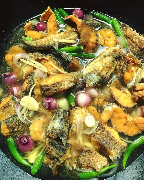 resepi ikan masak cuka