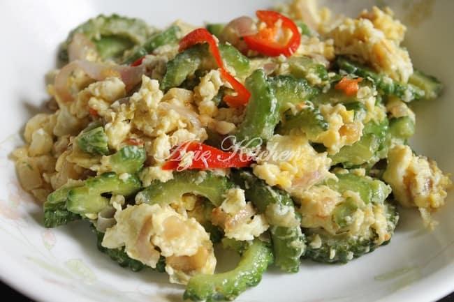 peria goremg dengan telur azie kitchen