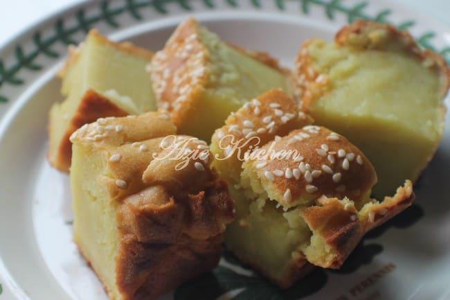 resepi bingka durian azie kitchen