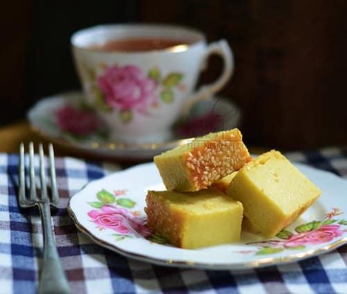 resepi bingka durian mat gebu