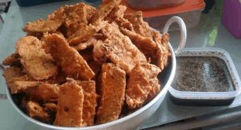 tempe goreng sambal kicap