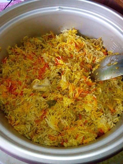 Nasi Beriani Gam Mudah Tengku Butang