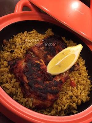 Nasi Briyani Ayam Tandoori Zahirah Dzahir