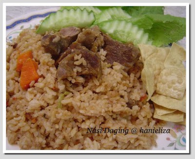 Nasi Daging Hanieliza's Cooking