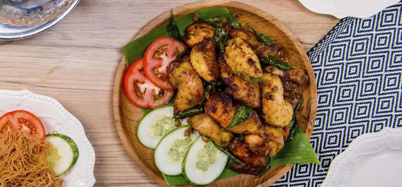 Resipi Ayam Goreng Berempah Favourite Abang