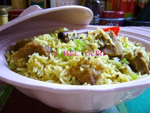 Nasi Arab Mat Gebu