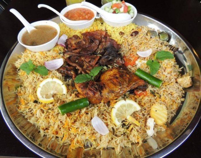 nasi arab simple