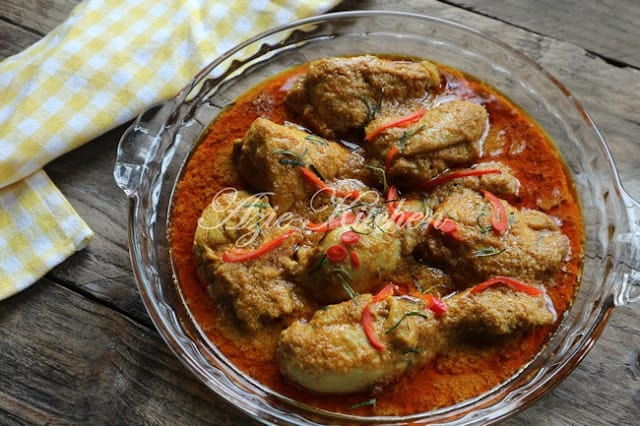 Kari Ayam Kapitan Nyonya Yang Sangat Sedap Azie Kitchen