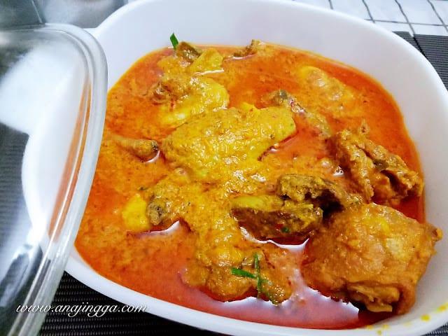 Resepi Ayam Kapitan Ana Jingga