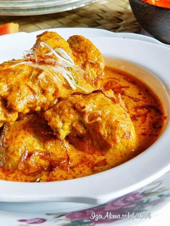 Resepi Kari Ayam Kapitan Chef Zabidi