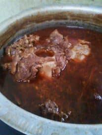 Resepi Sup Tulang Berempah Kicap