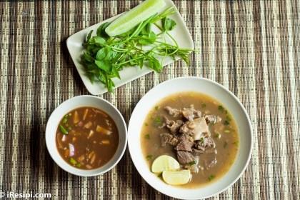 Resepi Sup Tulang Che Nom