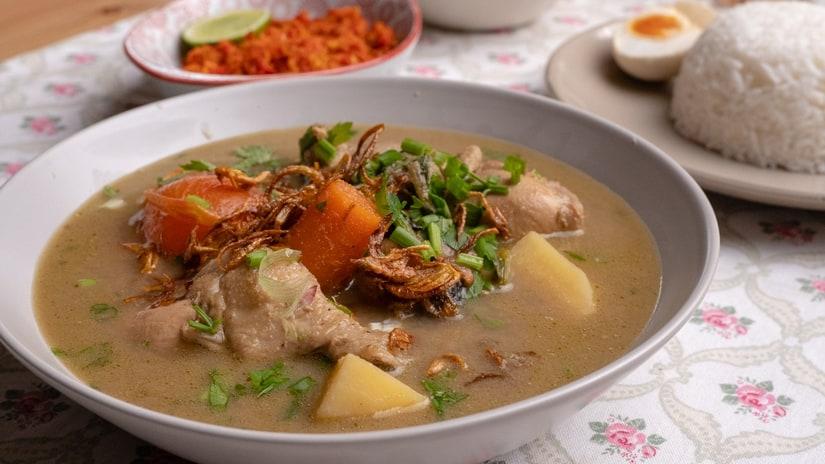 Sup Ayam Pekat Rempah Sendiri Che Nom