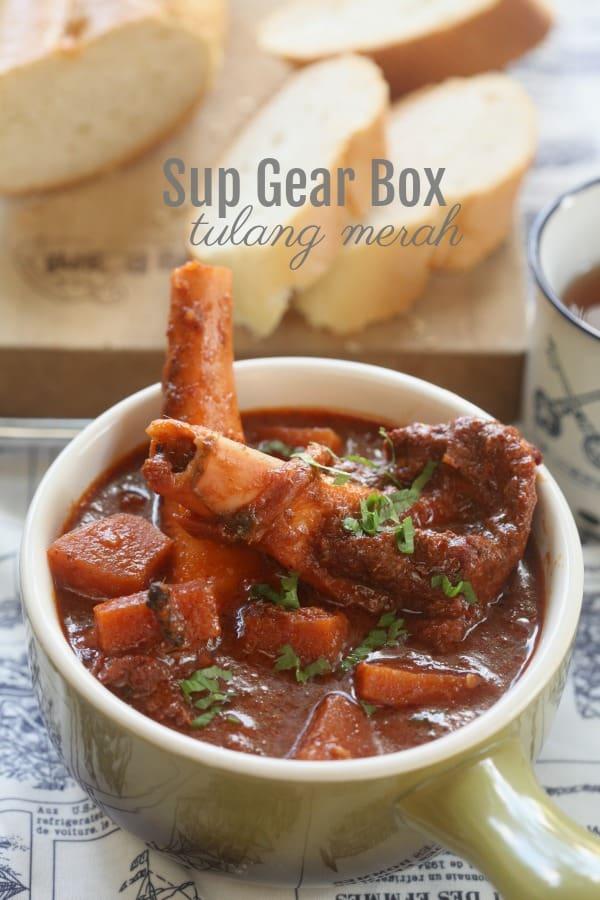 Sup Gear Box Tulang Merah Azlita Aziz