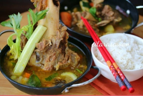 Sup Tulang Chef Amer Citarasawan